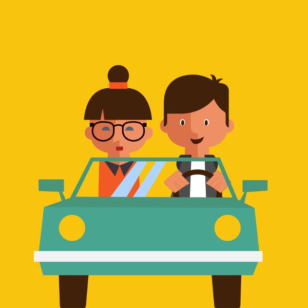 2toDrive rijden onder begeleiding van een coach
