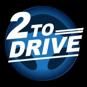 Logo 2toDrive bij Rijschool Kernpunt